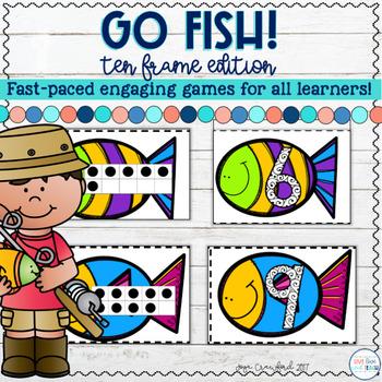 Ten Frames Game: Ten Frames Go Fish