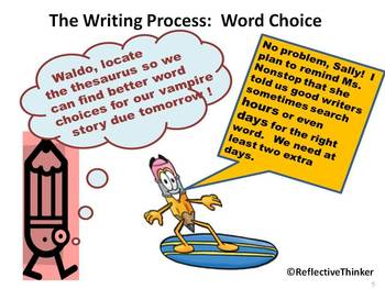 CCSS Aligned Word Choice Jigsaw Puzzles and Activities: Eradicate Overused Words