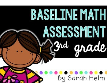 Baseline Math Assessment: 3rd Grade