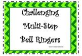 Math Bell Ringers Set 1