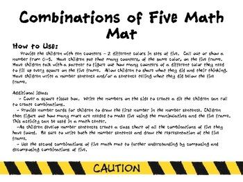 CCSS Building Numeracy Math Mats