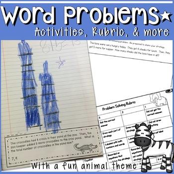 PROBLEM SOLVING WORKSHEETS, LESSON PLANS, RUBRICS AND MORE