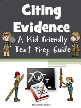 Citing Evidence for Test Prep