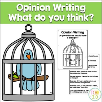 Opinion Writing Prompt Class Pet