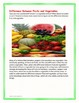 Informational Text The Great Salad Bar