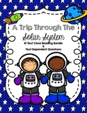 CCSS Close Reading 10 Text + Questions Bundle: A Trip Through the Solar System