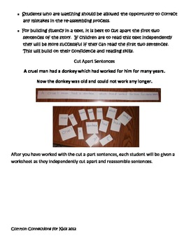 CCSS Close Reading, Writing and Center Activities for The