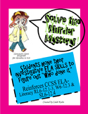 CCSS (Common Core) Murder Mystery