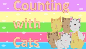 CCSS: Counting with Cats Task Cards 1 - 10