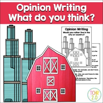 Opinion Writing Prompt Country vs City