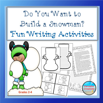 """""""DO YOU WANT TO BUILD A SNOWMAN?"""" TEXT-BASED WRITING ASSIGNMENT"""