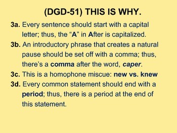CCSS: Daily Grammar Drill & Warm-Up -- II 50-Day Power Point!