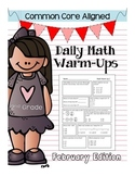 Common Core Daily Math Warm Ups - 2nd Grade February