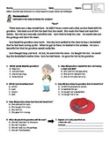 Describe Characters Bundle: Assessments and Practice Pages
