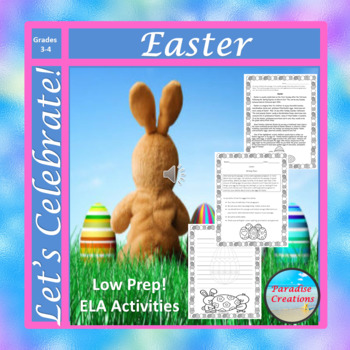 """EASTER"" BUNDLE TEXT-BASED WRITING ASSIGNMENTS"