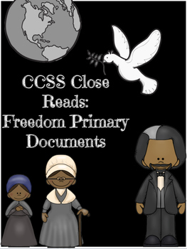 African American History CCSS ELA 5 Day Lesson Primary Documents