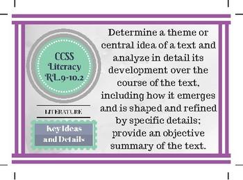 CCSS ELA 9-10 Cards