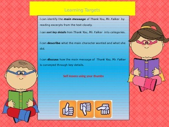 Engage NY Expeditionary Learning 3rd grade Module 1 Unit 2 Lesson 1 Power Point