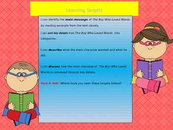 Engage NY Expeditionary Learning 3rd grade Module 1 Unit 2 Lesson 3 Power Point