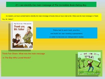 Engage NY Expeditionary Learning 3rd grade Module 1 Unit 2 Lesson 5 Power Point
