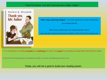 Engage NY Expeditionary Learning 3rd grade Module 1 Unit 2 Lesson 6 Power Point