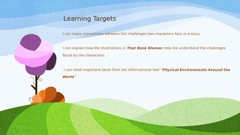 Engage NY Expeditionary Learning 3rd grade Module 1 Unit 3 Lesson 1 Power Point