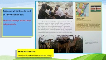 Engage NY Expeditionary Learning 3rd grade Module 1 Unit 3 Lesson 7 Power Point