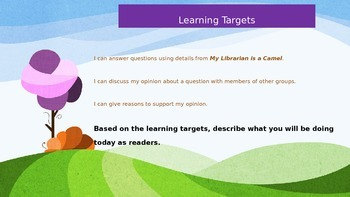 Engage NY Expeditionary Learning 3rd grade Module 1 Unit 3 Lesson 8 Power Point