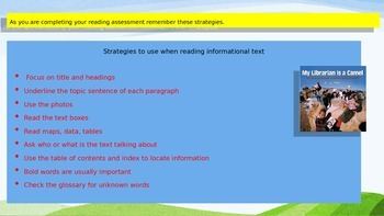 Engage NY Expeditionary Learning 3rd grade Module 1 Unit 3 Lesson 9 Power Point