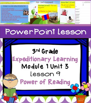 Engage NY Expeditionary Learning 3rd grade Module 1 Unit 3