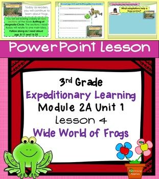 Engage NY Expeditionary Learning 3rd grade Module 2A Unit 1 Lesson 4 Power Point