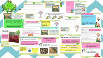 Engage NY Expeditionary Learning 3rd grade Module 2A Unit 1 Lesson 5 Power Point