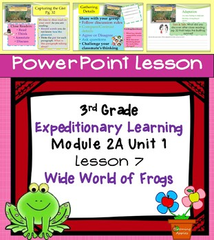 Engage NY Expeditionary Learning 3rd grade Module 2A Unit 1 Lesson 7 Power Point