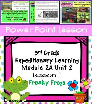 Engage NY Expeditionary Learning  3rd grade Module 2A Unit 2 Lesson 1 PowerPoint