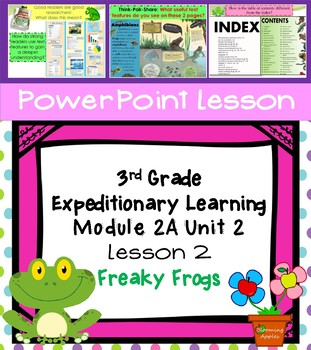 Engage NY Expeditionary Learning 3rd grade Module 2A Unit 2 Lesson 2 PowerPoint