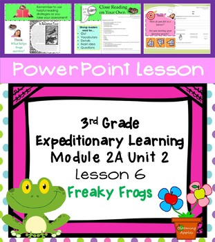 Engage NY Expeditionary Learning 3rd grade Module 2A Unit 2 Lesson 6 PowerPoint