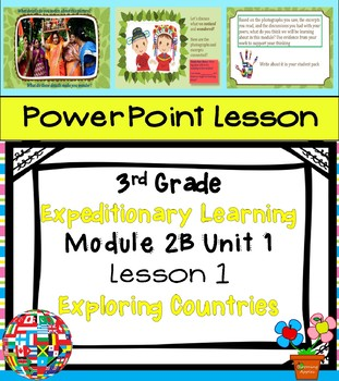 Engage NY Expeditionary Learning 3rd grade Module 2B Unit 1 Lesson 1 Power Point