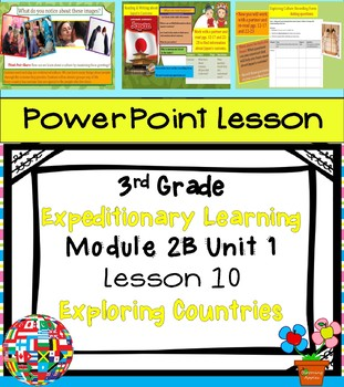 Engage NY Expeditionary Learning 3rd grade Module 2B Unit 1 Lesson 10 PowerPoint
