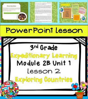 Engage NY Expeditionary Learning 3rd grade Module 2B Unit 1 Lesson 2 Power Point