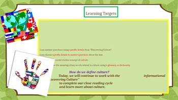 Engage NY Expeditionary Learning 3rd grade Module 2B Unit 1 Lesson 3 Power Point