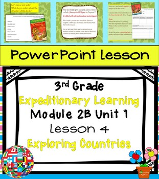 Engage NY Expeditionary Learning 3rd grade Module 2B Unit 1 Lesson 4 Power Point