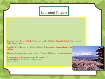 Engage NY Expeditionary Learning 3rd grade Module 2B Unit 1 Lesson 5 PowerPoint