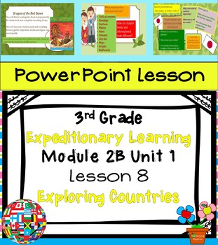 Engage NY Expeditionary Learning 3rd grade Module 2B Unit 1 Lesson 8 Power Point