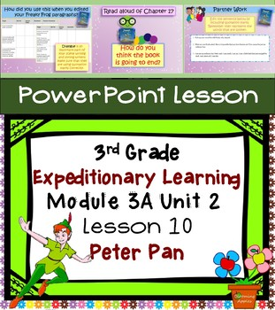Engage NY Expeditionary Learning 3rd grade Module 3A Unit 2 Lesson 10 PowerPoint