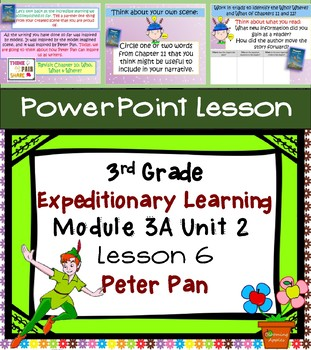 Expeditionary Learning 3rd Grade Power Point Lesson Module 3A Unit 2 Lesson 6