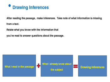 CCSS.ELA-LITERACY.RL.5.1 Drawing Inferences From a Text