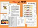 CCSS ELA Vocabulary Trick or Treat