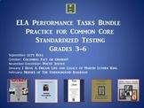 CCSS ELA Performance Task Bundle