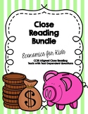 CCSS Economics Close Reading Bundle:  6 Texts + Text Dependent Questions