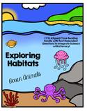 CCSS Exploring Habitats: Ocean Animals- 10 Text Close Reading Bundle